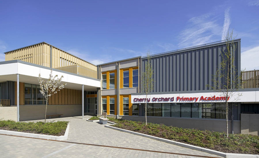 First primary school, Cherry Orchard Primary Academy, opens